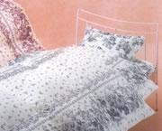 羽毛掛けふとん・羊毛敷きふとんセットの写真